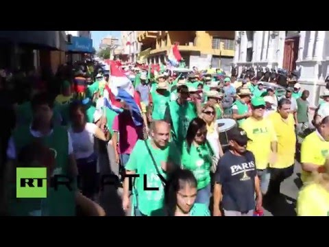 Paraguay: Farmers protest against lobby-friendly reforms