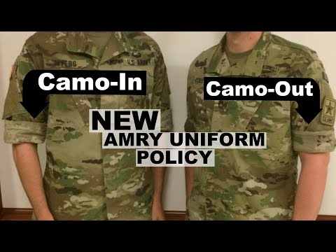 Sleeves Up pt2   Uniform Policy UPDATE   Army National Guard