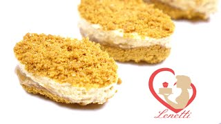 Mini Lotus Dessert | Easy To Make | Lenetti