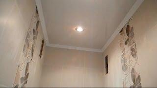 делаем подвесной потолок в туалете ч.4