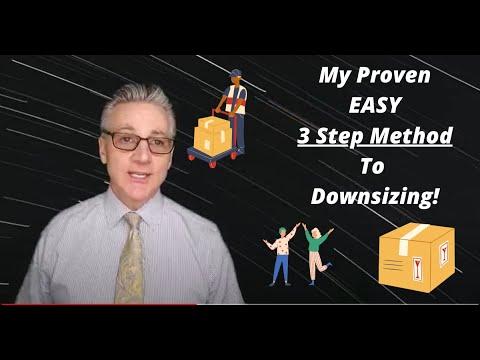 Downsizing 3 easy steps
