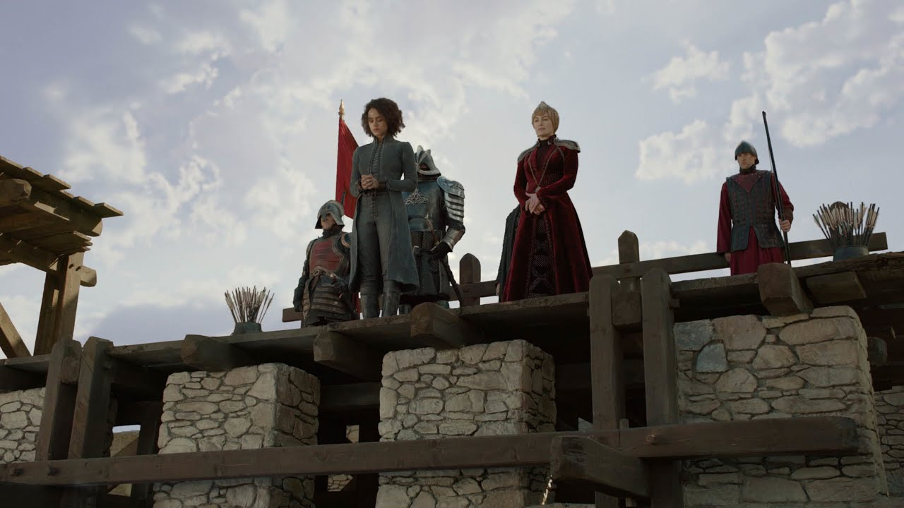 Image result for cersei on roof