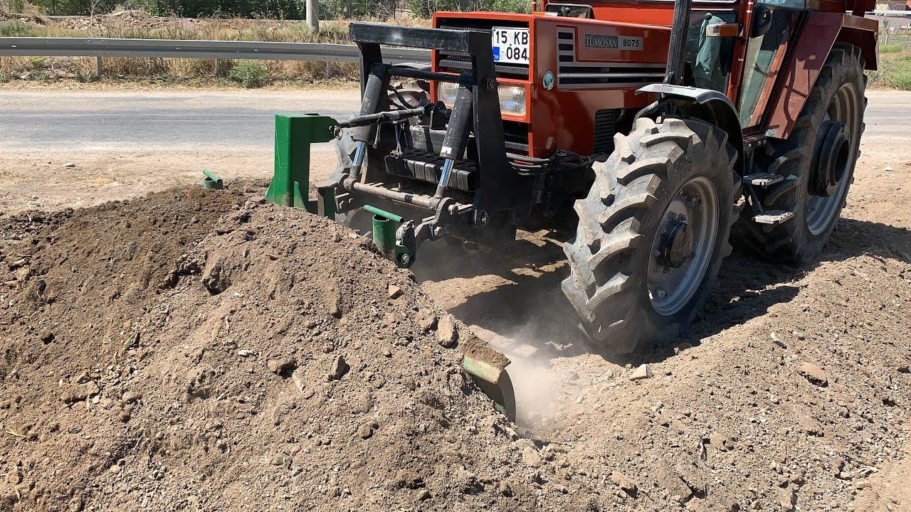 kuzeytek makina traktör arka kazıcı kepçe new holland backhoe loader 2019