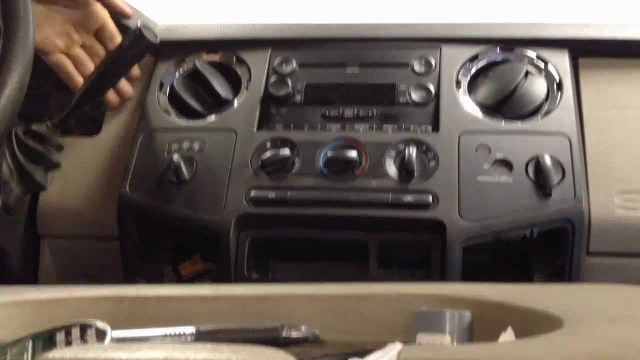 small resolution of ford superduty erratic temp blend door actuator removal