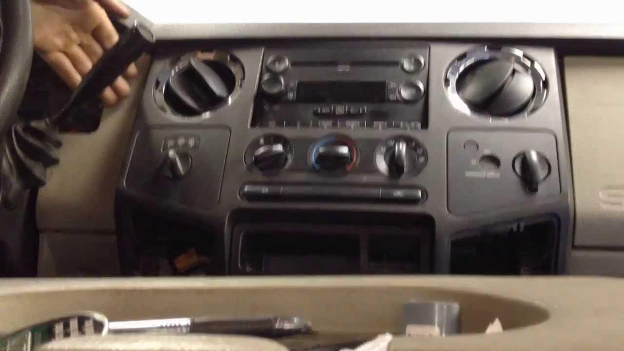 Truck Heater Wiring Diagram Ford Superduty Erratic Temp Blend Door Actuator Removal