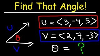 Angle Between Two Points