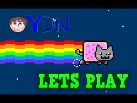 Nyan Cat Lets Play| Mow Mow Mow Mow!!!!