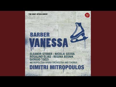 Barber: Vanessa; Act 1: Potage Crème Aux Perles