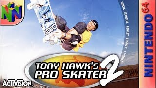 Longplay Of Tony Hawk S Pro Skater 2