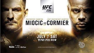 UFC 226: Miocic vs Cormier