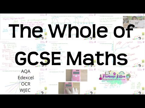 The whole of GCSE Maths in only 2 hours!! Higher and Foundation Revision for Edexcel, AQA or OCR