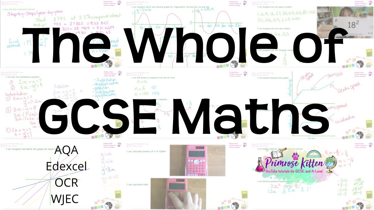 The whole of GCSE 9-1 Maths in only 2 hours!! Higher and Foundation ...