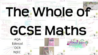 The whole of GCSE 9 1 Maths in only 2 hours Higher and Foundation Revision for Edexcel AQA or OCR