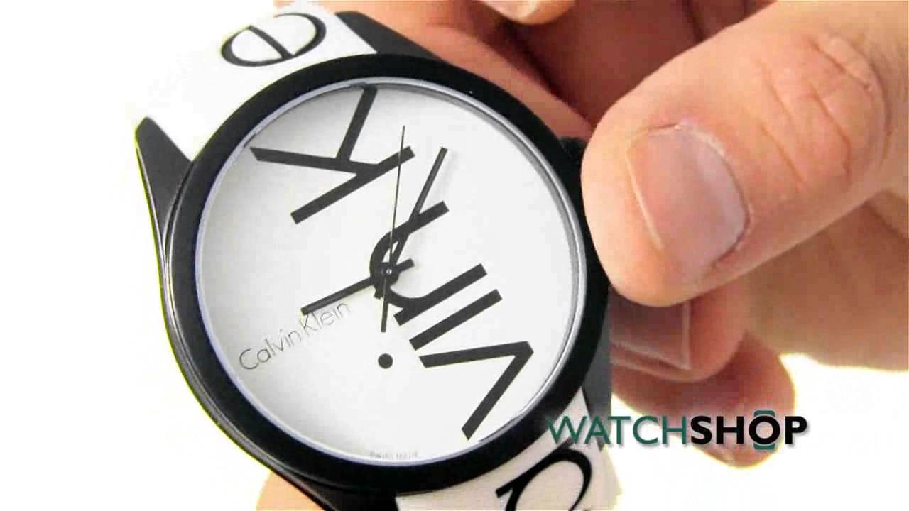 Calvin Klein Ladies' Colour Watch (K5E51TK2) - YouTube 69d3199b46c8