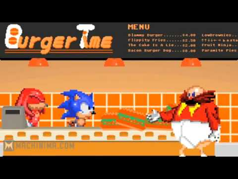 Sonic For Hire - Burger Time