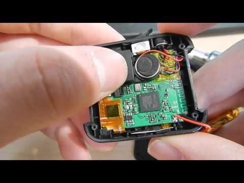 U8 smart watch teardown and modifications