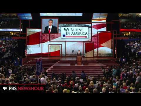 Watch Republican Presidential Candidate Mitt Romney