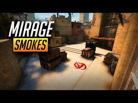 CSGO - Mirage Smoke Tips & Tactics *NEW* (2018)