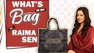 Gambar cover What's In My Bag With Raima Sen | Bag Secrets Revealed
