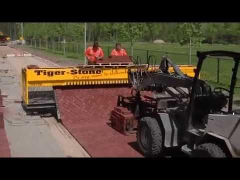 Голландская разработка по укладке тротуарной плитки