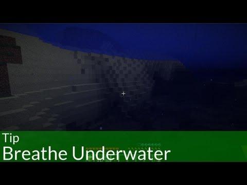 Tip: Breathe Underwater Forever in Minecraft