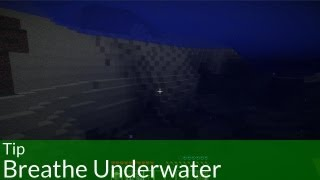 Tip: Breathe Underwater Forever in Minecraft