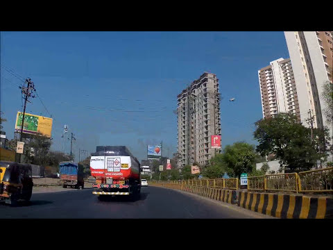 Driving India: Navi Mumbai - Bhayandar FHD