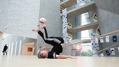 Freestyle-jalkapalloilija PeGe Piirto haastaa sinut testaamaan futistaitosi! - OP