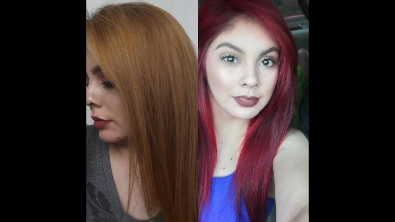 How i removed my red hair no bleach