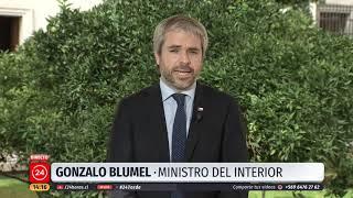"""Ministro Blumel y sumario por Gustavo Gatica: """"Pedimos a Carabineros que lo resuelvan a la brevedad"""""""