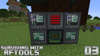 Surviving With RFTools :: E03 - Builder Tree Farm
