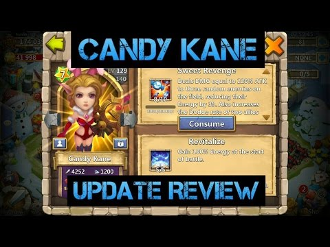 CastleClash: Candy Kane And Artifacts Update Review