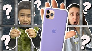 EN UCUZ IPHONE 11 PRO MAX KILIF CHALLENGE! ODADA KİLİTLİ KALDIM! I Locked In The Room!