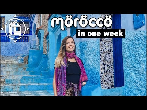 Morocco Travel Guide Itinerary: Sahara Desert GLAMPING, Fes & the Iconic Blue City!