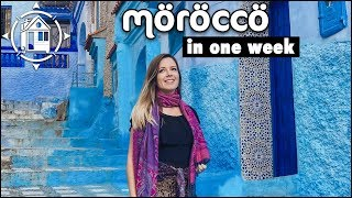 Morocco Travel Guide Itinerary: Sahara Desert & Blue City