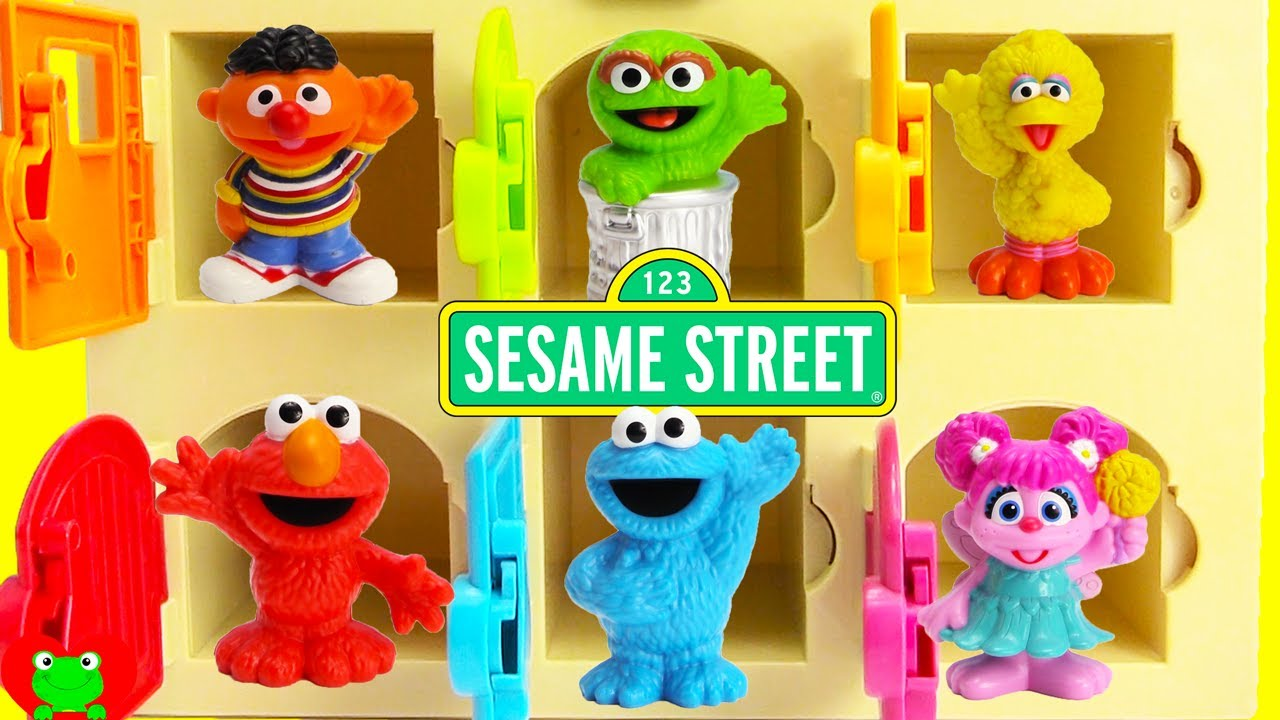 2333347d8 Sesame Street Learn Colors Help Bert Find Elmo, Cookie Monster, Ernie and  Surprises