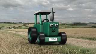 DVD  Tractor Ted Big Machines  Kids dvd