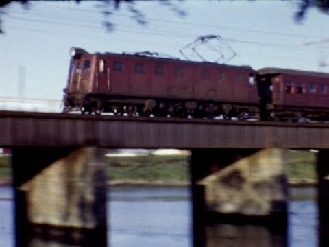 Along the Hutt Valley railway line in 1966/1967