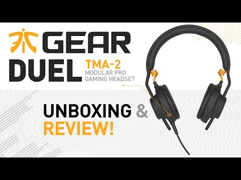 Fnatic Gear DUEL TMA-2 Modular Pro Gaming Headset Unboxing, Review & Microphone Test!