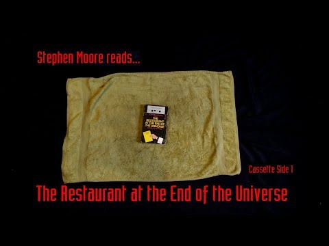Stephen Moore Reads :The Restaurant At The End Of The Universe - Cassette Side 1