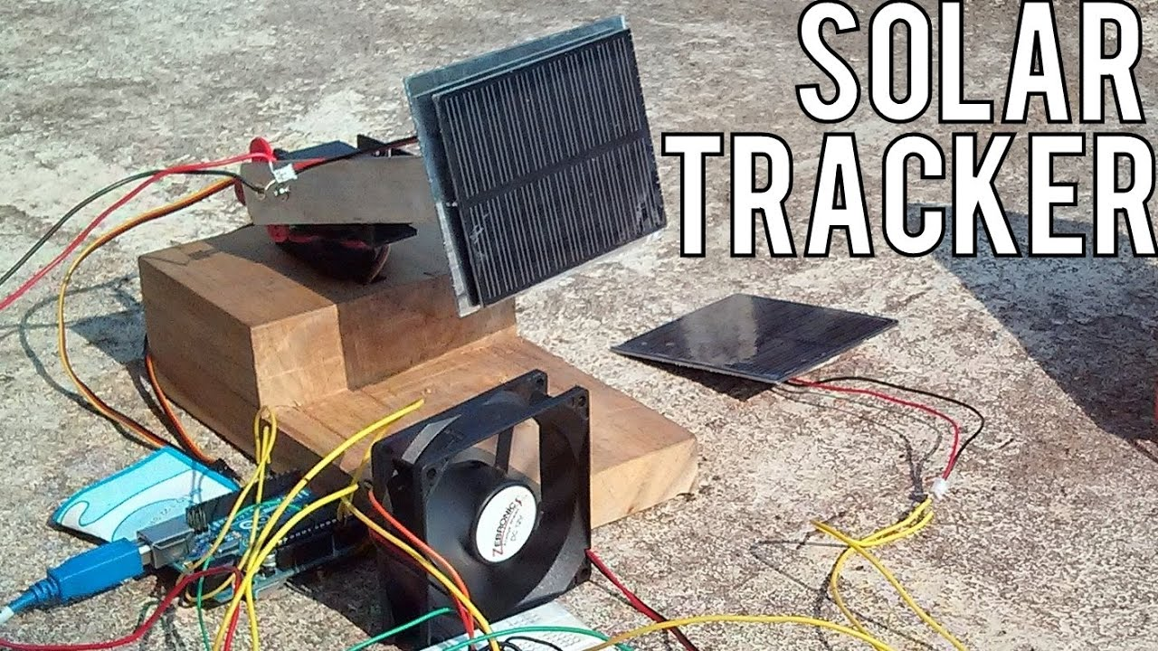 Arduino Series How To Make A Solar Tracking System