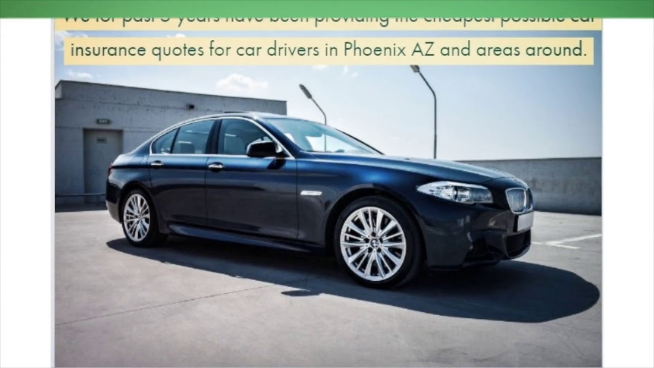 Low Cost Car Insurance in Phoenix AZ
