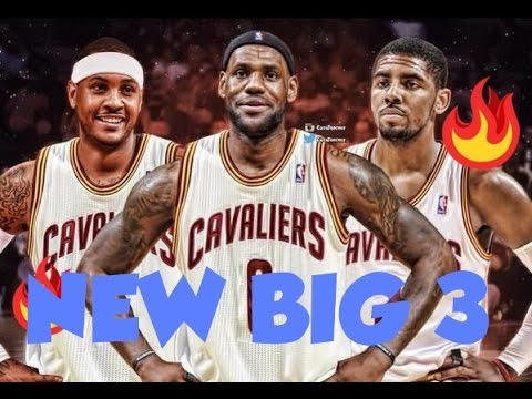 LEBRON CONVINCED CARMELO ANTHONY TO SIGN WITH THE...
