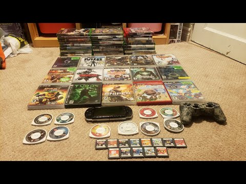 YARD SALE VIDEO GAME HUNTING PSP FOUND AND PS3 GAMES