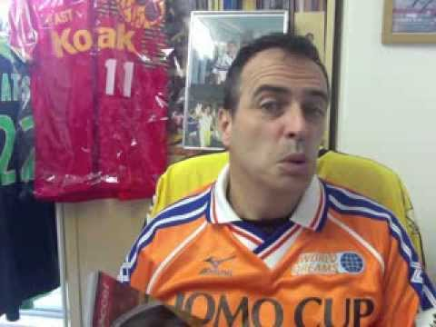 BEST J.League Goal EVER! Dragan Piksi Stojkovic Golazo! Japan football soccer Samurai Blue
