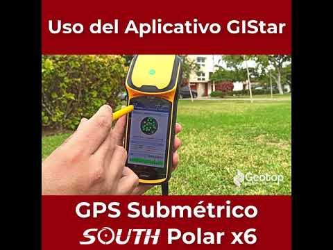 04 Aplicacion GIStar - GPS Submétrico South X6 Polar