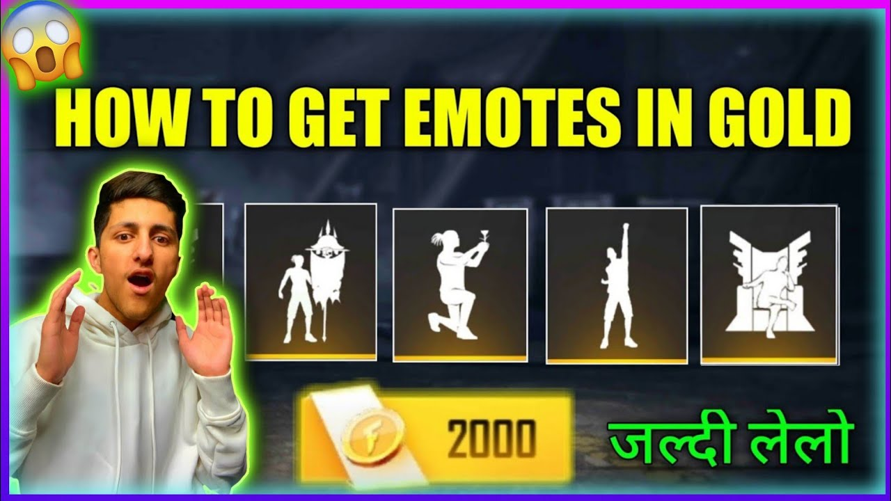 Download How To Get Free All Emote Free Fire   gold mein emotes kaise le/ Free Fire Free Emote New Trick 2021