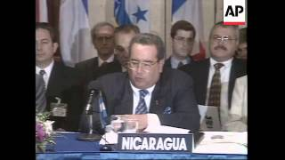NICARAGUA: PRESIDENTS OF CENTRAL AMERICAN STATES FORGE UNION