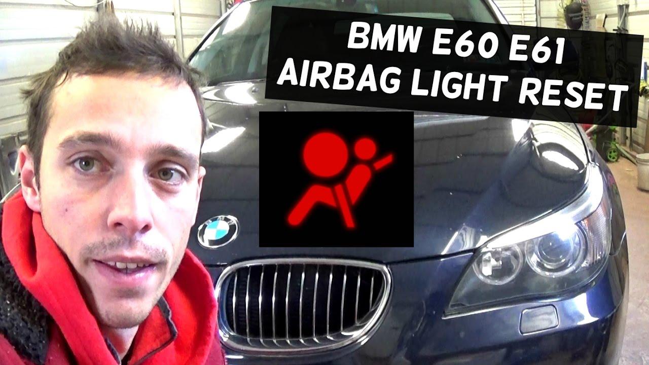 bmw e60 e61 airbag light reset with maxisys ms908 520i 523i 525i 528i 530i 535i 520d 530d 535d [ 1280 x 720 Pixel ]