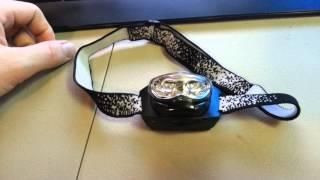 Energizer 3 LED Headlamp reveiw [ Amazing value [